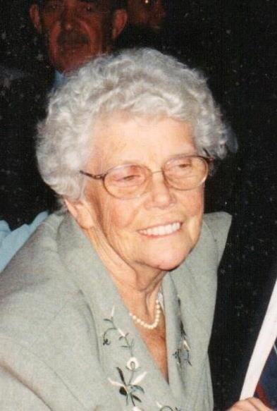 Edith M.  Huff (nee Smith)